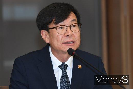 [머니S포토] 모두발언 하는 김상조 공정거래위원장