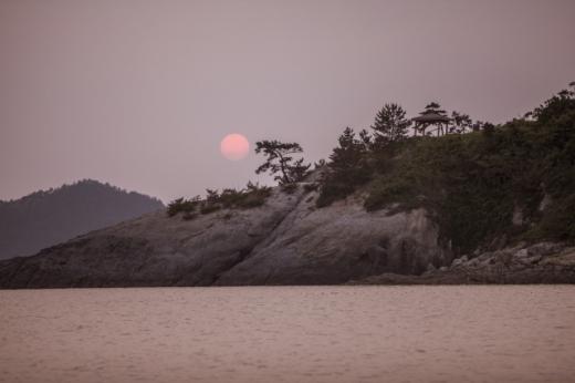 신안 분계해수욕장 일몰. /사진=한국관광공사