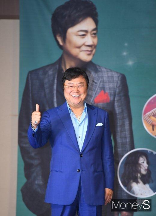 [머니S포토] 남진 '영원한 오빠~'