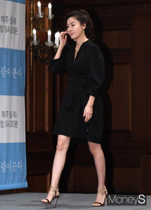 [머니S포토] 김하늘, '바람이 분다'로 드라마 복귀