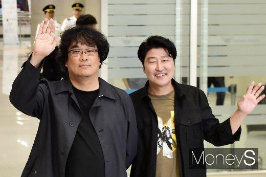 [머니S포토] 칸의 남자로 돌아온 봉준호-송강호
