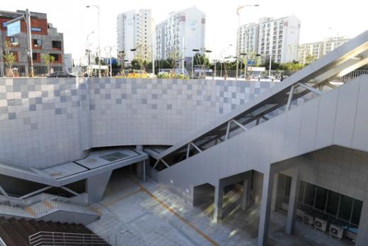 하남시는 지하철 5호선 하남연장 건설공사가 마무리 단계에 접어듦에 따라 지하철 역명을 제정하고 고시했다고 29일 밝혔다. 사진은 하남풍산역. / 사진제공=하남시