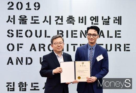 [머니S포토] 2019 서울비엔날레 홍보대사 위촉식