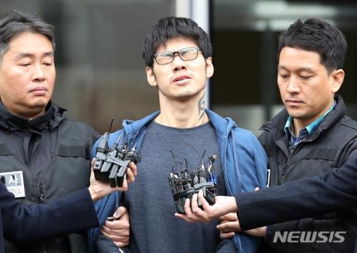 PC방 아르바이트생을 살해한 혐의로 구속 기소된 피의자 김성수. /사진=뉴시스