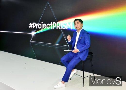 [머니S포토] 삼성전자 '프로젝트 프리즘' 설명하는 김현석 대표이사
