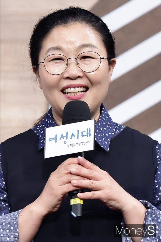 """[머니S포토] 박금선 작가, """"여성시대는 나에게 희망이다"""""""