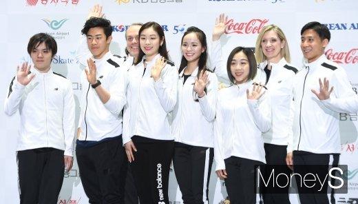 [머니S포토] '올댓쇼케이트 2019 아이스쇼' 에서 만나요