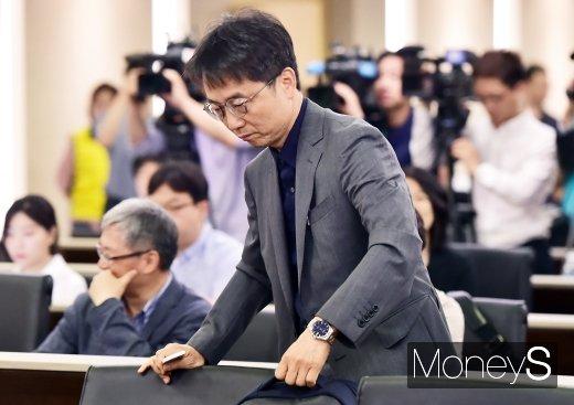 [머니S포토] 최저임금위 서울 공청회 참석한 박준식 위원장