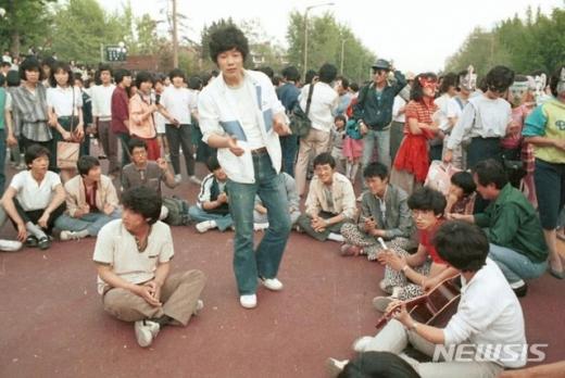 1985년 대학로 '차 없는 거리'. /사진=뉴시스(서울시)