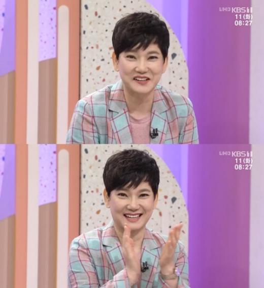 배우 안문숙. /사진=KBS '아침마당' 방송화면 캡처