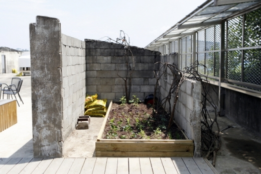 가든을 떠올리게 하는 옥상 그라운드. /사진=한국관광공사