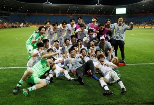 한국 축구. /사진=로이터
