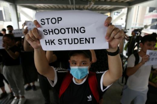 홍콩 시위./사진=로이터