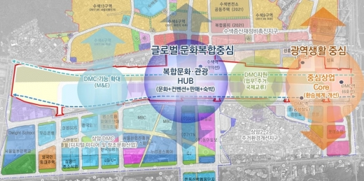 수색역세권 개발계획(안). /사진=서울시