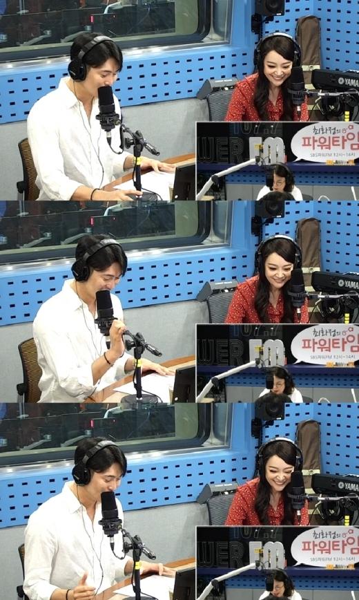 김소현 손준호 언급. /사진=SBS 최화정의 파워타임 방송 화면 캡처