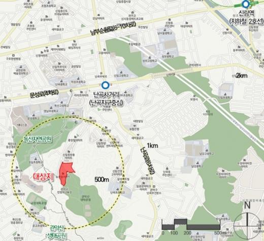위치도. /사진=서울시