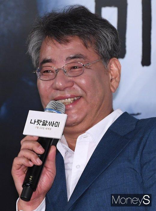 [머니S포토] 영화 '나랏말싸미'의 조철현 감독
