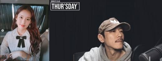 박환희(왼쪽) 빌스택스. /사진=박환희 인스타그램 캡처, 유튜브 화면 캡처