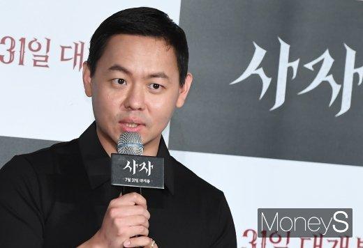 [머니S포토] 영화 '사자'의 김주환 감독