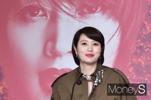 [머니S포토] 매혹, 김혜수 특별전 기자회견 참석한 김혜수