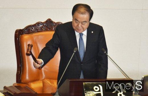[머니S포토] 84일만에 열린 국회 본회의… 정개위·사개위 연장