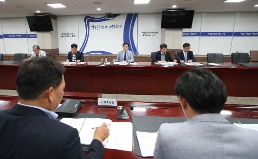 화성시 민선7기 1주년 공약 보고회 모습. / 사진제공=화성시