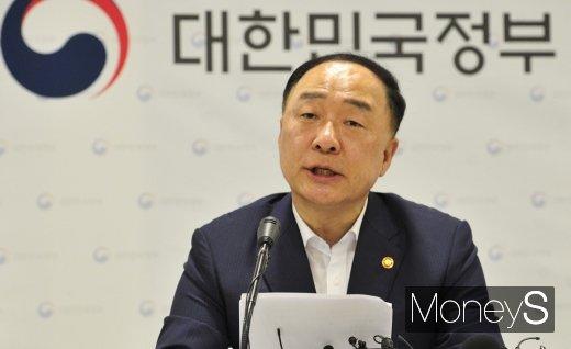 홍남기 경제부총리 겸 기획재정부 장관. /사진=장동규 기자