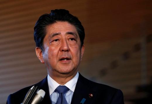 아베 일본 총리. /사진=로이터