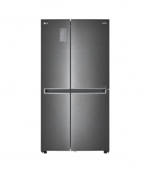 에너지대상 및 산업통상자원부장관상을 받은 LG전자 디오스 양문형 냉장고 / 사진=LG전자