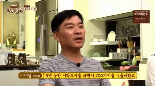 김두원씨. /사진=JTBC '한끼줍쇼' 방송화면 캡처