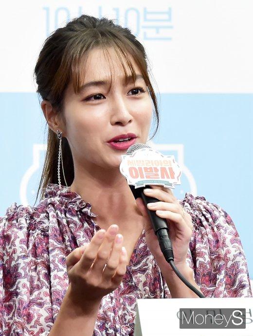 """[머니S포토] 이민정, """"남편 이병헌, 재밌겠다며 응원"""""""