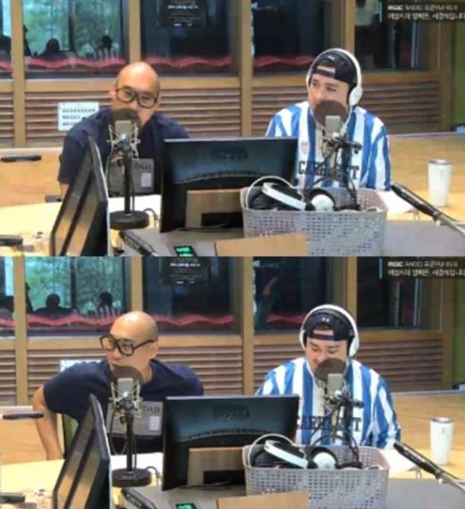 손진영과 샘해밍턴. /사진=MBC '여성시대' 방송화면 캡처