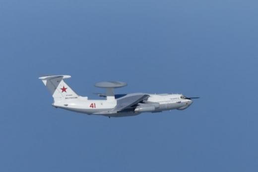 지난 23일 오전 한국 영공을 침범한 러시아의 A-50 조기경보통제기. /사진=뉴스1