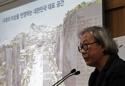 승효상 국가건축정책위원장. /사진=뉴스1 오대일 기자