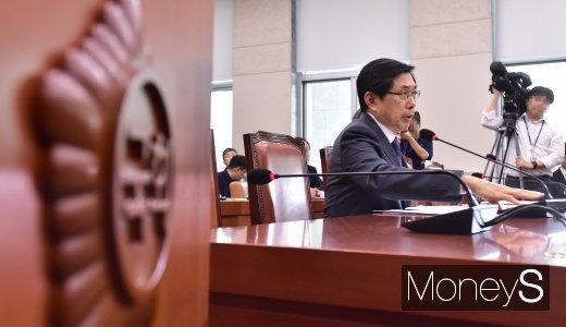 [머니S포토] 질의에 답하는 박상기 법무 장관