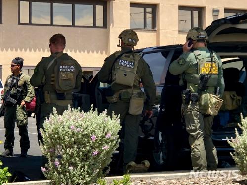 미국 텍사스주 국경도시 엘패소의 대형 쇼핑몰에서 총기난사 사건이 발생했다. /사진=뉴시스