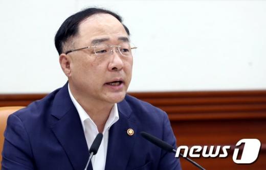 홍남기 경제부총리 겸 기획재정부 장관. /사진=뉴스1