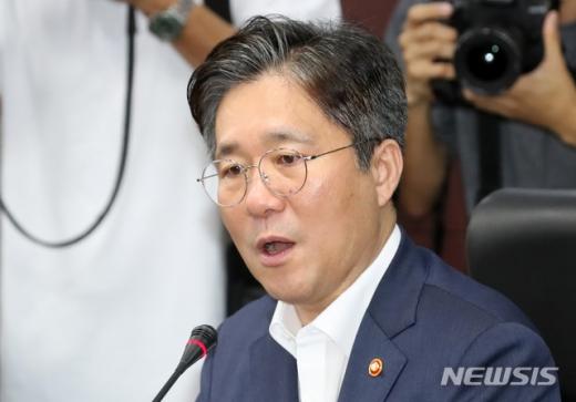 """성윤모 """"29조 자금공급 여력 신속 집행, 특별운전자금 6조 지급"""" (속보)"""