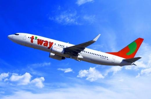 티웨이항공 여객기. /사진=티웨이항공
