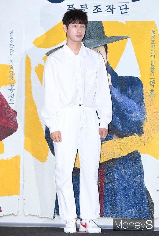 [머니S포토] 윤박, 아무나 소화하기 힘든 올화이트 패션