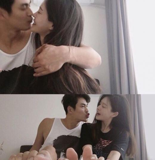 김산호  아내 임신. /사진=김산호 인스타그램