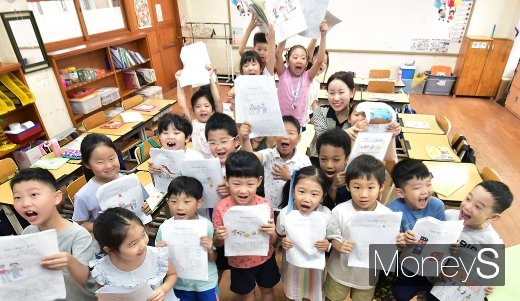 [머니S포토] 전국 초등학교 본격 개학