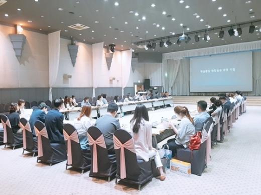 지난 13일 화성 푸르미르에서 열린 2019 유관기관 네트워크 협의회 모습. / 사진제공=경기도교육청