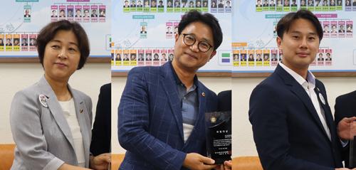 김경희·추민규·황대호 의원.(왼쪽부터)/ 사진제공=경기도의회