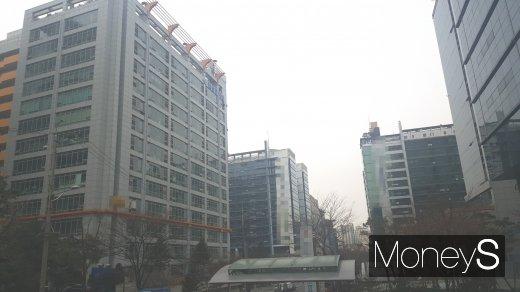 서울시내 한 지식산업센터 밀집 지역. /사진=김창성 기자