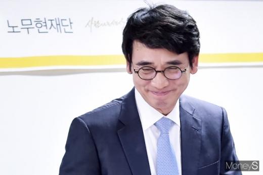유시민 노무현재단 이사장. /사진=임한별 기자