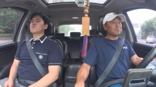 마라토너 이봉주(오른쪽)와 그의 아들. /사진=MBC 제공