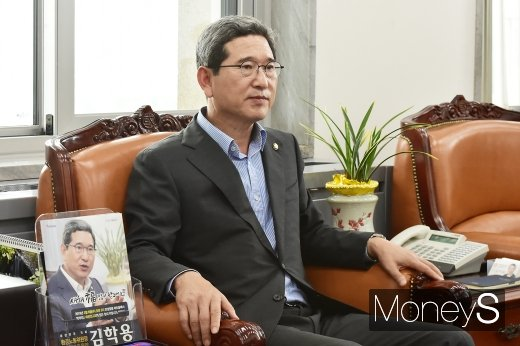 김학용 자유한국당 의원. /사진=임한별 기자