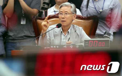 여상규 국회 법제사법위원장. /사진=뉴스1
