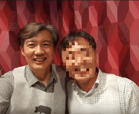 조국(왼쪽)과 윤총경. /사진=가로세로연구소 유튜브 캡처